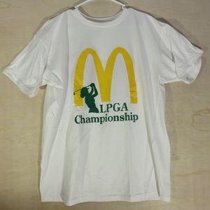 Vintage McDonald T-shirt Coca Cola XL LGPA